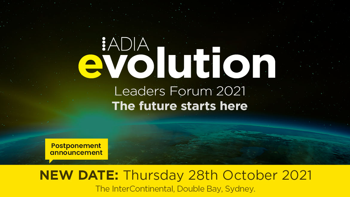 ADIA Evolution - Leaders Forum save the date