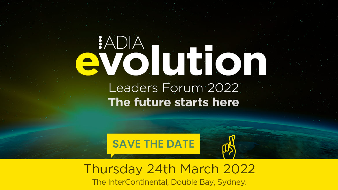 Evolution - Leaders Forum 2021 - save tha date 24 March 2022
